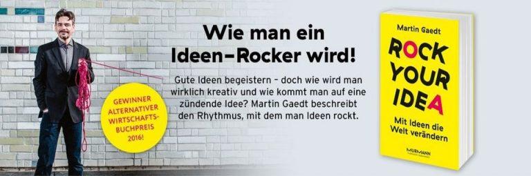 #rockyouridea #provotainment #martingaedt #wertschatzdestages #wertschatz2020