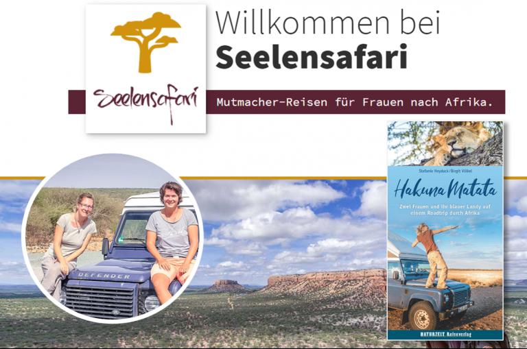 Birgit Völkel und Stefanie Heyduck- Seelensafari