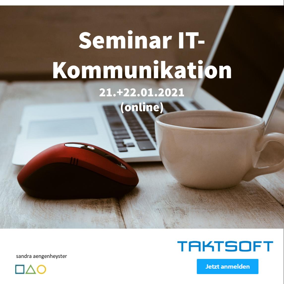 Seminar IT-Kommunikation taktsoft campus